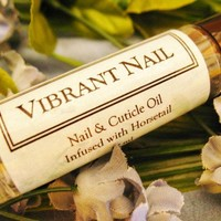 Cuticle Nail Oil Vibrant Nail organic strengthen soften brighten