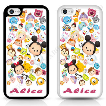 Tsum Tsum Disney Mickey Personalised Cover Case Disney for iPhone Samsung Sony