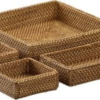Artesia Four-Part Serving Basket