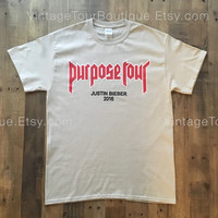 Justin Bieber Purpose Tour My Mama Don't Like You Tee Shirt