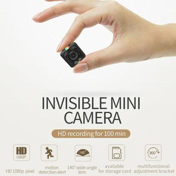 MDIGFS2 140 Degree Big Wide Angle Mini Camcorder Night Vision Small Camera 1080P HD Mini DV Motion Detection