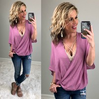 Love this Life Wrap Top