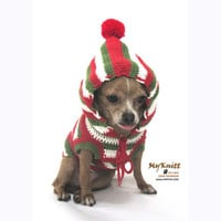 Christmas Gifts Dogs Hoodie Sweater Dog Clothes Pets Clothing Chihuahua D884 - Free Shipping