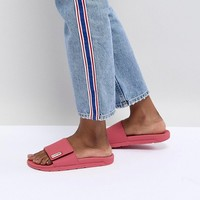 Hunter Original Adjustable Slide in Pink at asos.com