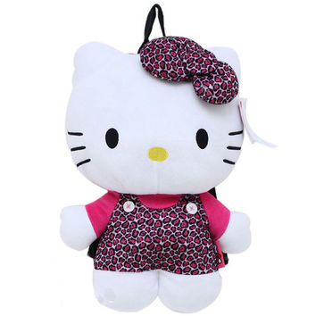 Hello Kitty Leopard Backpack
