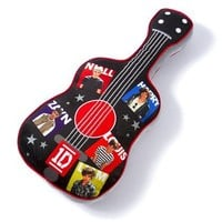 One Direction Guitar Pillow  | Claire's
