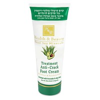 Intensive Dead Sea Minerals Anti-Crack Foot Cream  With Avocado Oil And Aloe Vera