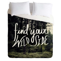 Leah Flores Wild Side Duvet Cover
