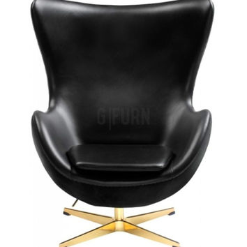 Reproduction of Arne Jacobsen's Golden Egg Chair 50th Anniversary Special Edition | GFURN