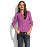 Women's SHIRTS & TOPS - blouses - Silk Poetess Top - Madewell