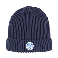 North Sails AW17 Logo Beanie in Navy
