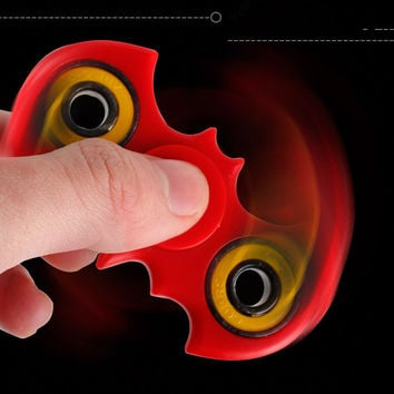 New Colorful Batman Tri-Spinner Fidgets Toy Plastic EDC Sensory Fidget Spinner For Autism and ADHD Kids/Adult Funny Anti Stress