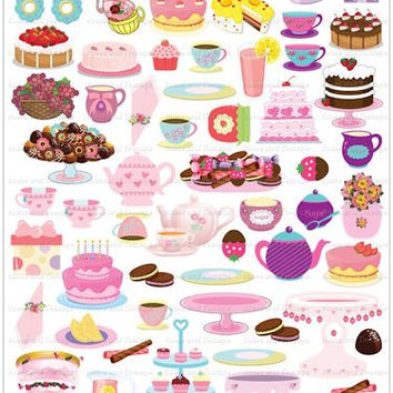 """My Very Own Tea Party"" Reusable Sticker Activity Set"