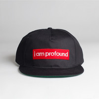 I AM PROFOUND Badge Snapback Hat