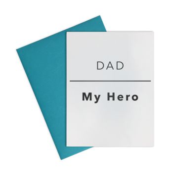 Card- Dad l My Hero