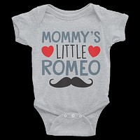 Mommy's Little Romeo Onesuit