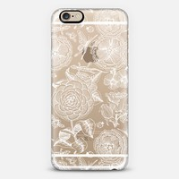 Lacy White Garden Bliss - on shine through transparent iPhone 6s case by Perrin Le Feuvre | Casetify