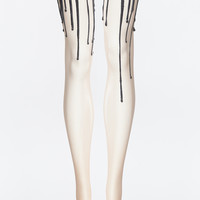 Black Melt Melting Tights | URB