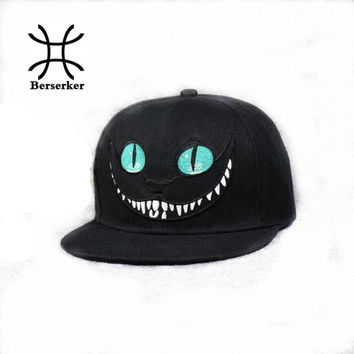 New 2016 Alice in Wonderland Cheshire Cat cartoon baseball caps BUGS BUNNY SYLVESTER hats for Men and Women snapback hiphop bboy