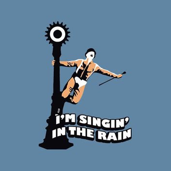 Singin In The Rain Adult Tee Shirt