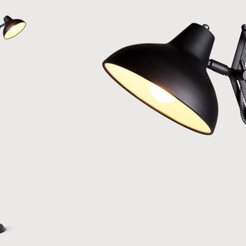 Frosini Floor Lamp in black | made.com