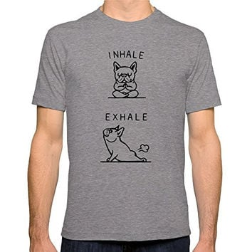 Men's Inhale Exhale Frenchie T-Shirt
