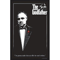 Godfather - Blacklight Poster