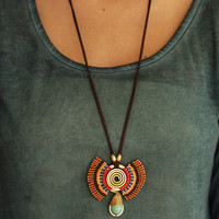 Flame Totem Necklace