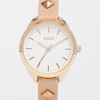 Oasis Studded Strap Watch