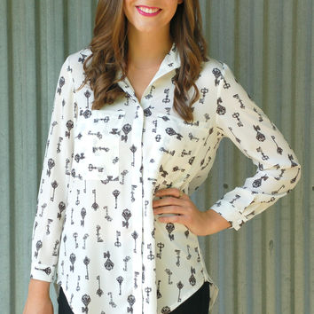 Key to Success Blouse
