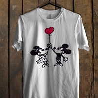 Happy Valentines Day Disney mickey minnie mouse For Mens T Shirt, Womens T Shirt ***