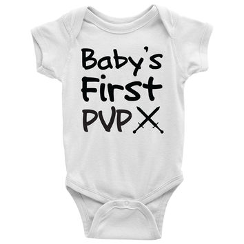 Baby's First PVP Baby Onesuit