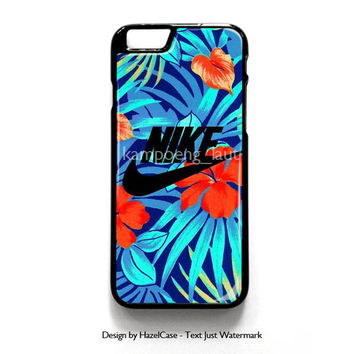 Nike Flower for iPhone 4 4S 5 5S 5C 6 6 Plus , iPod Touch 4 5  , Samsung Galaxy S3 S4 S5 Note 3 Note 4 , and HTC One X M7 M8 Case Cover