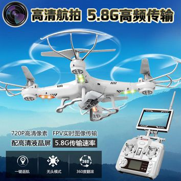 Third Generation K300C Rc helicopter 2.4GHz 6-Axis With 2MP WIFI Camera FPV 5.8G video transmission One key return quadrocopter