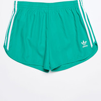 adidas adicolor Green Track Shorts at PacSun.com