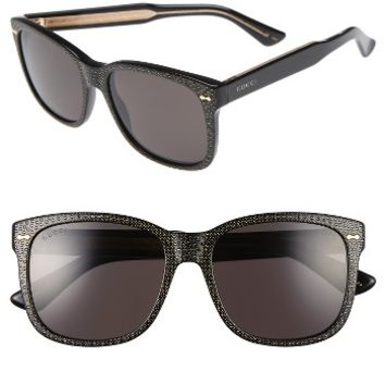 Gucci 56mm Swarovski Crystal Oversize Cat Eye Sunglasses | Nordstrom