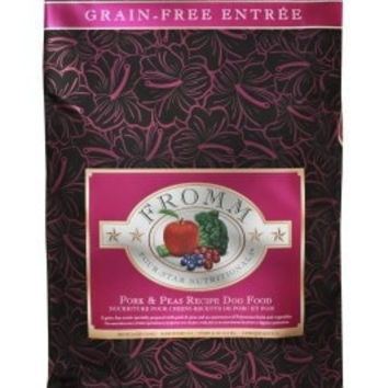 FROMM DOG DRY - 4STAR GF PORK/PEAS 26LB -  - FROMM PET FOODS - UPC: 72705114306 - DEPT: FROMM PET FOOD
