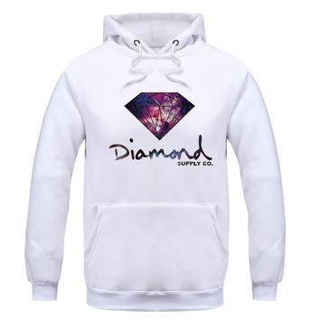 Men's Hoodies hooded diamond supply fleece warm