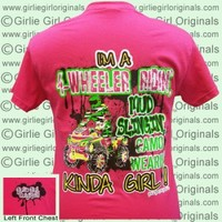 4-Wheeler #3 (Short Sleeve) - $16.99 : Girlie Girl™ Originals - Great T-Shirts for Girlie Girls!