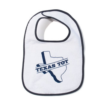 Texas Tot Bib (Multiple Colors)