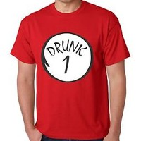 The Drunk 1 2 3 4 5 6 Tee Shirt Men's T-Shirt