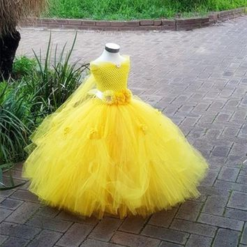 Elegant Princess Girls Ball Gown Boutique Dresse