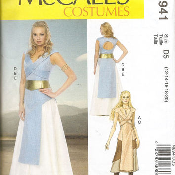 14-0903 Mother of Dragons Costume Pattern / Game of Thrones / McCall's 6941 Pattern / Daenerys Targaryen Costume Pattern / Halloween Costume
