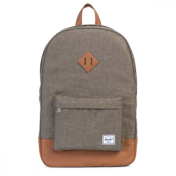 Herschel Supply Co. Grey / Brown Heritage Backpack