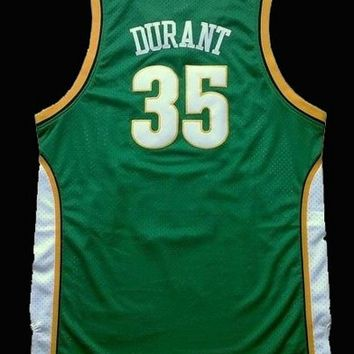 Kevin Durant 35 Seattle SuperSonics NBA Basketball Jersey Kevin Durant Seattle Sonic