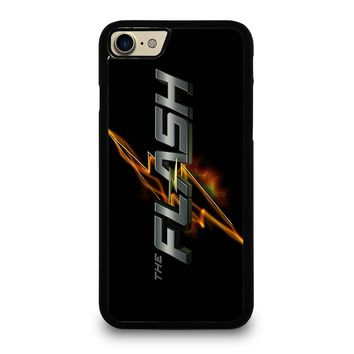 THE FLASH SUPERHERO iPhone 4/4S 5/5S/SE 5C 6/6S 7 8 Plus X Case