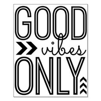 Good Vibes Only Small Poster> Good Vibes Only> ...