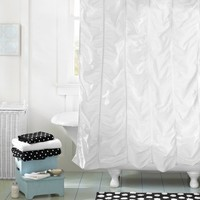 Ruched Shower Curtain