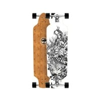 Arbor Zeppelin Bamboo Complete Longboard One Color, 33in