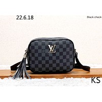LV new female tassel shoulder bag Messenger bag camera bag